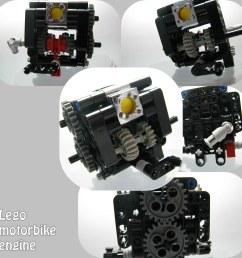 lego motorbike engine by senpairag lego motorbike engine by senpairag [ 1024 x 1024 Pixel ]