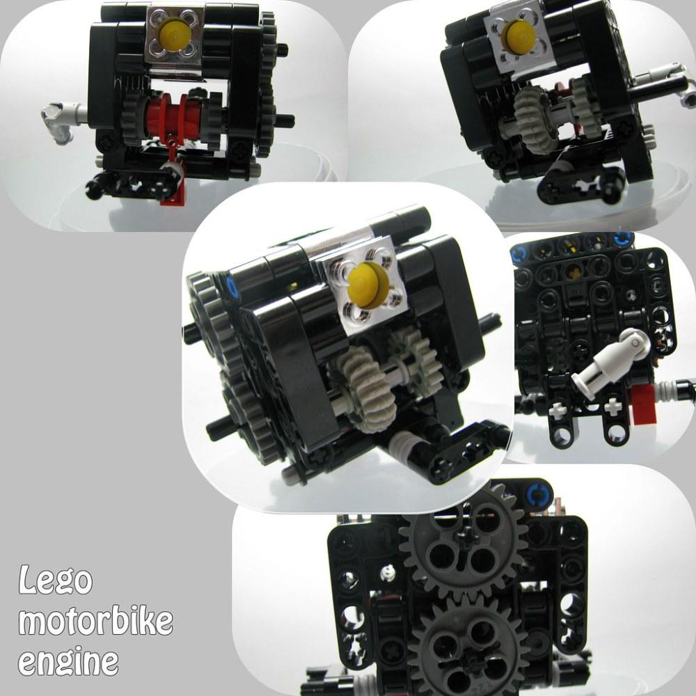 medium resolution of lego motorbike engine by senpairag lego motorbike engine by senpairag