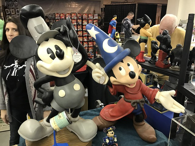 Mickey gets photobomb'd at the 29th Annual Tucson Collectible Toy Show and Sale