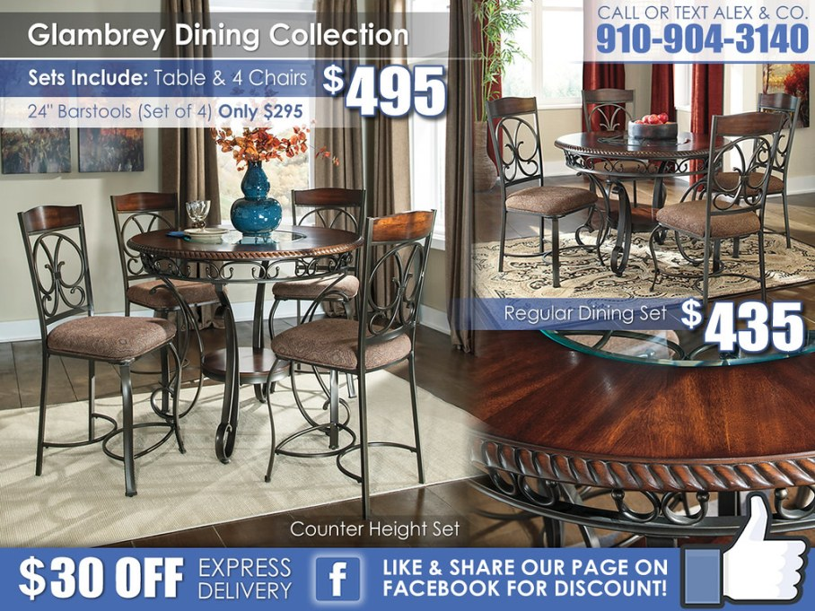Glambrey Dining Collection2