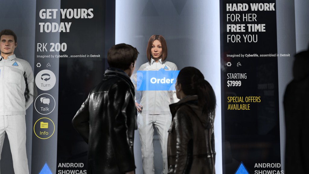 Quantic Dream Announced Detroit: Become Human 2