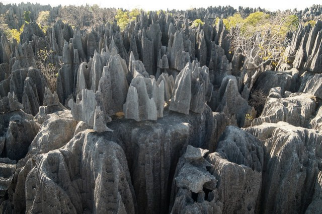 Tsingy Rock Formations