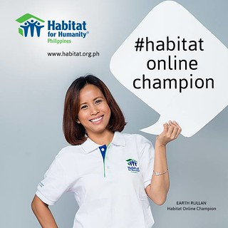 Habitat for Humanity Online Champion Earth Rullan