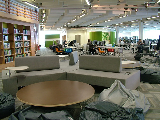 Study Areas and Power Furniture Glasgow Caledonian Univer