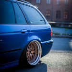 My Bagged Estoril Blue E39 Touring S62b50 Swap