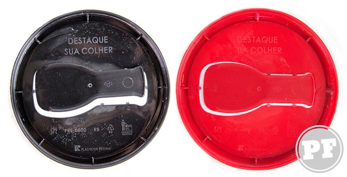 Sorvetes Nestlé: Tampas com Colher por PratoFundo.com