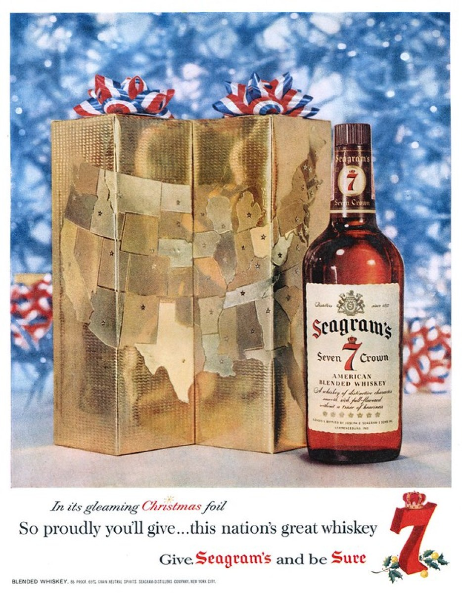 Seagram's 7 - published in Life - December 8, 1958