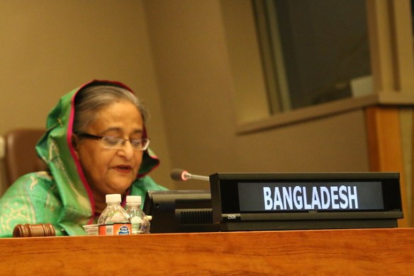 """High-level Event organized by Bangladesh on """"MDGs to SDGs - Way Forward, September 29, 2015"""