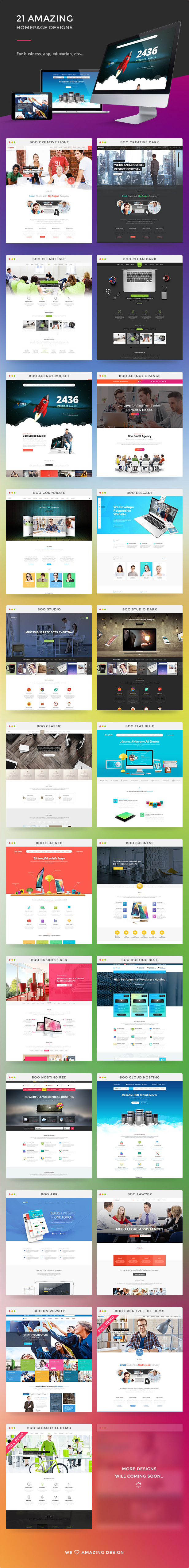 21 incredible homepage designs