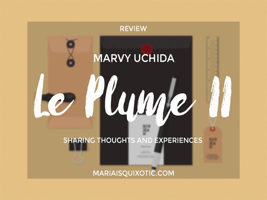 Marvy uchida le plume ii brush pens review mq scribbles