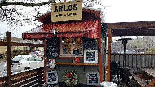 fish and chips food cart portland