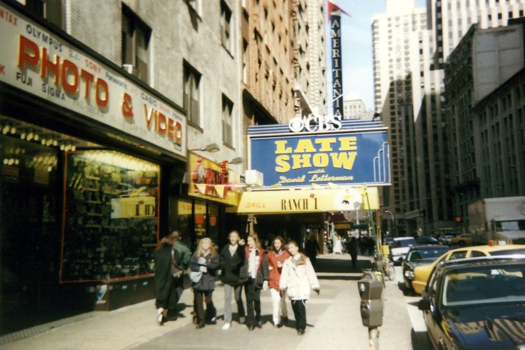 NYC Ed Sullivan Theater  The Ed Sullivan Theater located   Flickr
