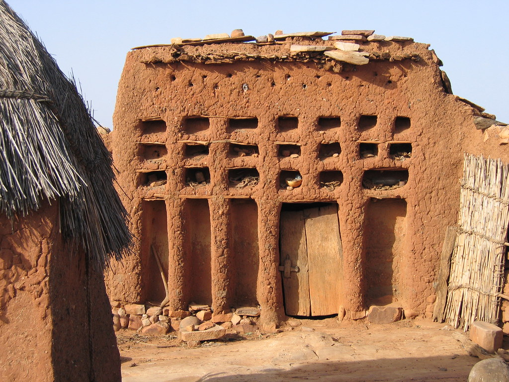 Dogon family house  Known in dogon language as ginnu na