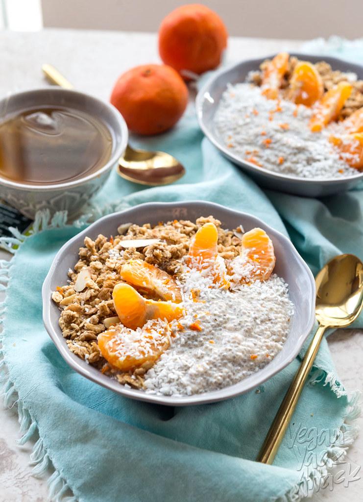 Dreamy Tangerine Chia Pudding