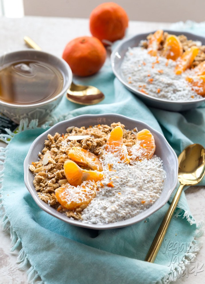 Dreamy Tangerine Chia Pudding