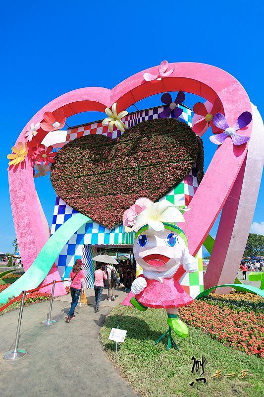 [臺中新社花海] 藝想萬花筒 臺中國際花毯節HDMV   熊本一家の愛旅遊瘋攝影