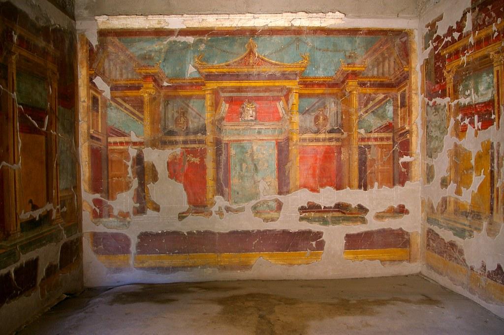 Villa de Popea Oplontis  Esta lujosa villa se atribuye
