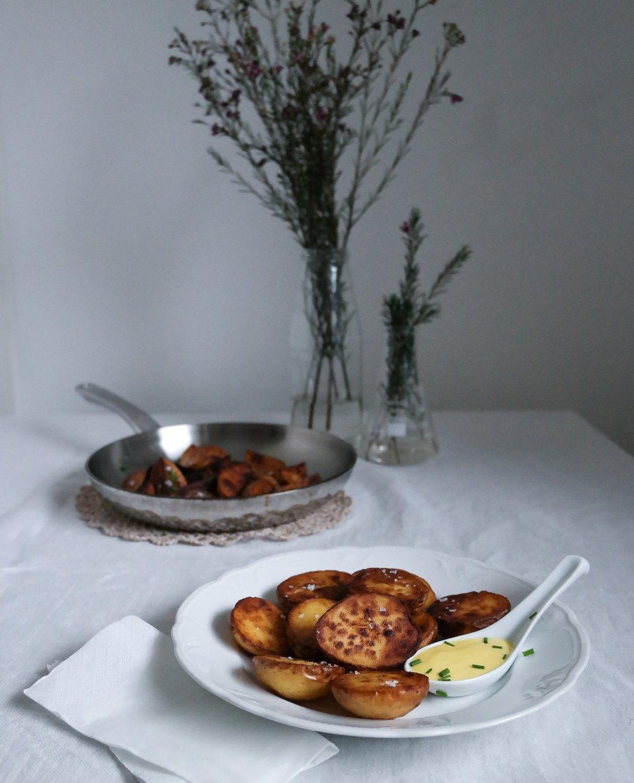 Salt and vinegar perunat