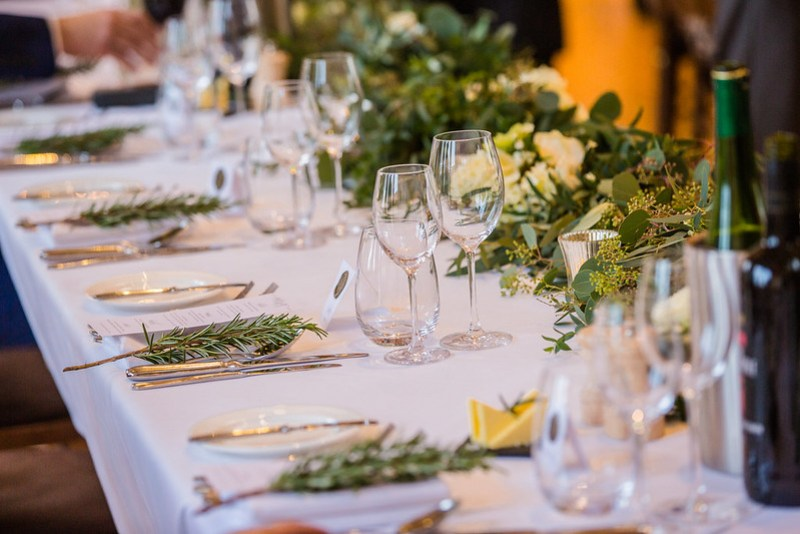 Wanderlust Us Travel Blog - Winter Wedding Bassmead Manor Barns - Flowers