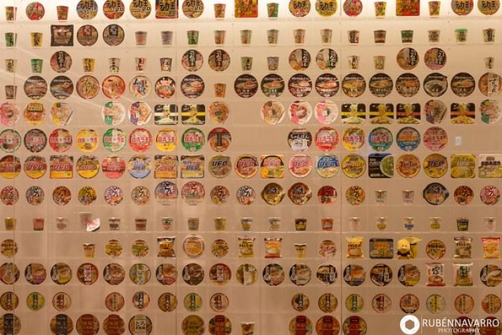 Museo de los fideos instantáneos en Yokohama