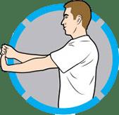 2⃣️ 手腕屈肌伸展