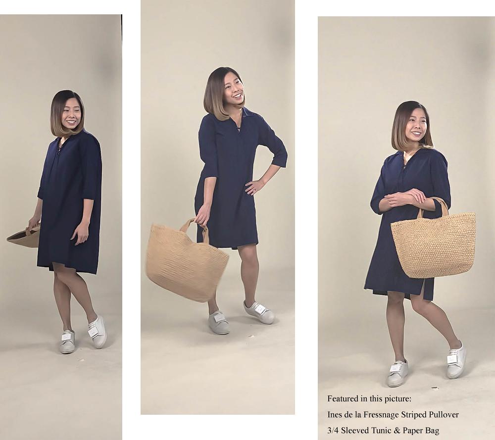 Elle Singapore Uniqlo Ines de la Fressange Fashion Blog comb 22