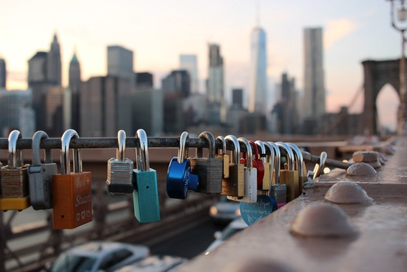 Brooklyn Bridge Love Locks