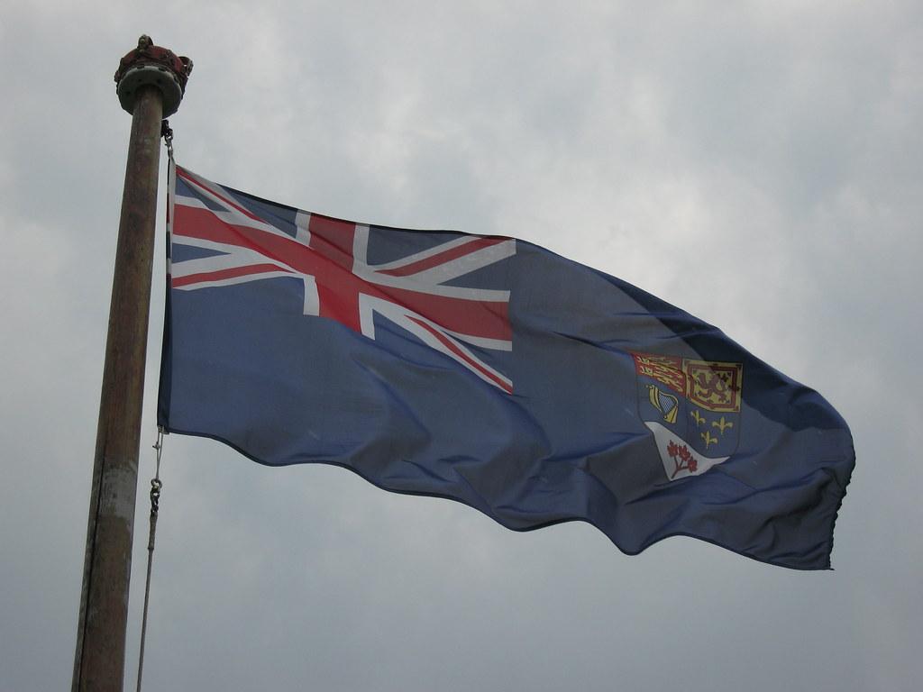 Canadian Blue Ensign  Until 1965 Canadas unofficial nat  Flickr