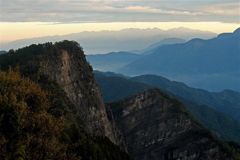 Sunrise at Alishan National Scenic Area