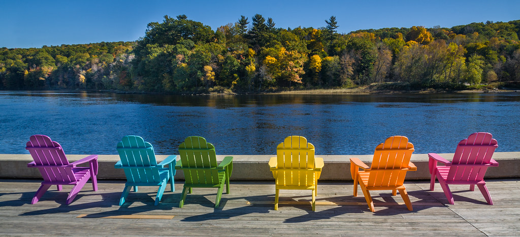 Kennebec View  This photo is of the Kennebec River in