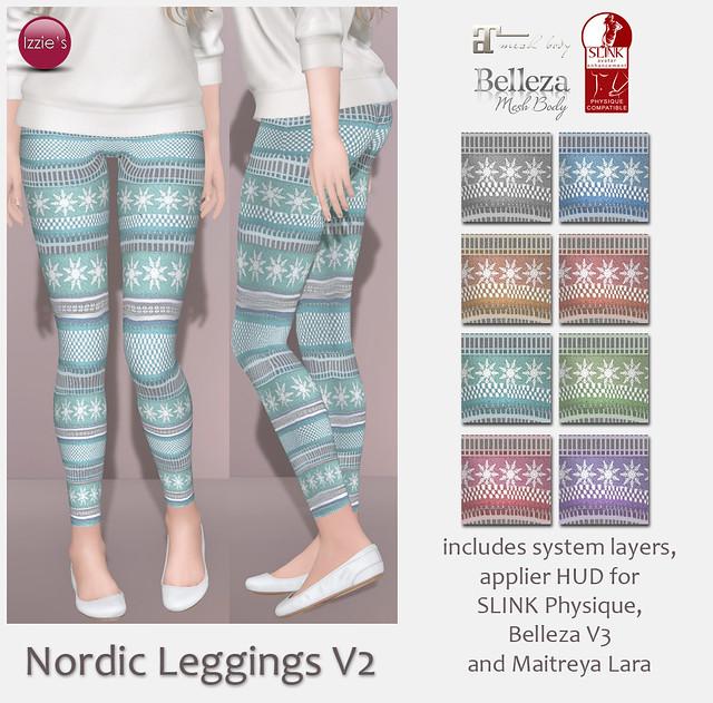 Nordic Leggings V2 (for FLF)