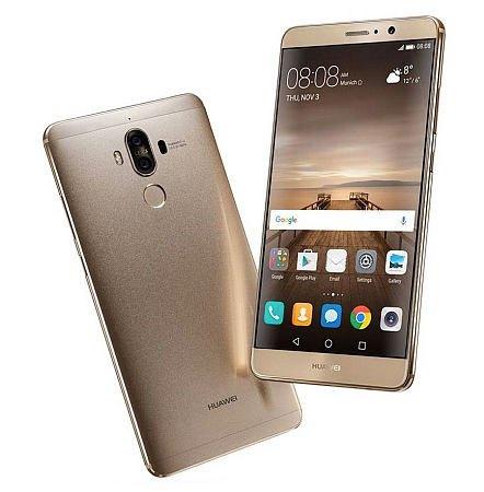 Durante el CES 2017, Huawei presentó el Mate 9.