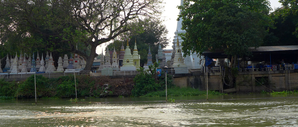 Thaïlande - Ayutthaya - 138 - Sur la Chao Phraya