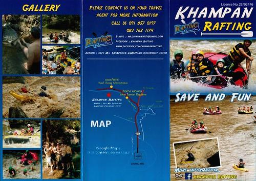Brochure Khampan Rafting Chiang Mai Thailand 1