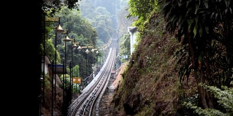【2015大馬吉隆坡、檳城之旅】檳城「升旗山」(Penang Hill):直線纜車好刺激(11 ys)
