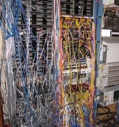 data center wire mess brphoto flickr network wiring mess cluster mess wiring [ 768 x 1024 Pixel ]