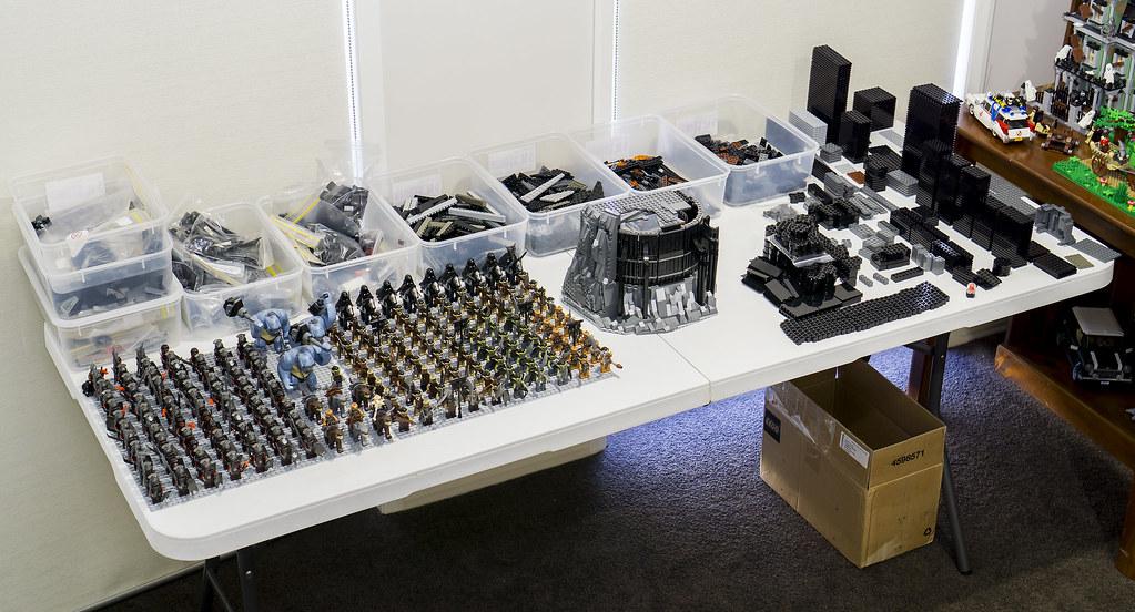LEGO BaradDur MOC Build Table Update  I am building a Lord  Flickr