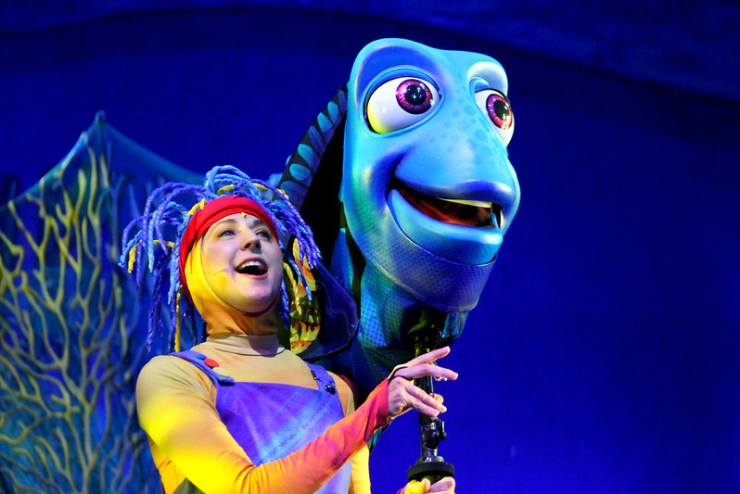 Finding Nemo the Musical Animal Kingdom Oct 2016 36