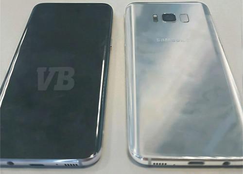 Samsung Galaxy S8 cortesía de @evleaks