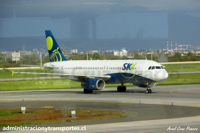 Sky Airline | SCL - Santiago | Airbus A320 CC-ABW