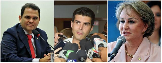 Priante perde a vice-presidência da Câmara e culpa Barbalhos pela derrota, Priante, Helder e Elcione