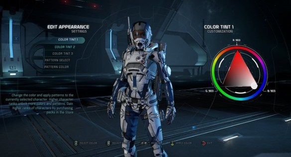 Mass Effect Andromeda Multiplayer Apperance Edit