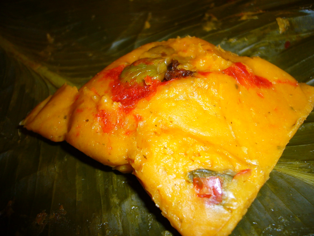 Panamanian Tamales  Tamales are found in some form from
