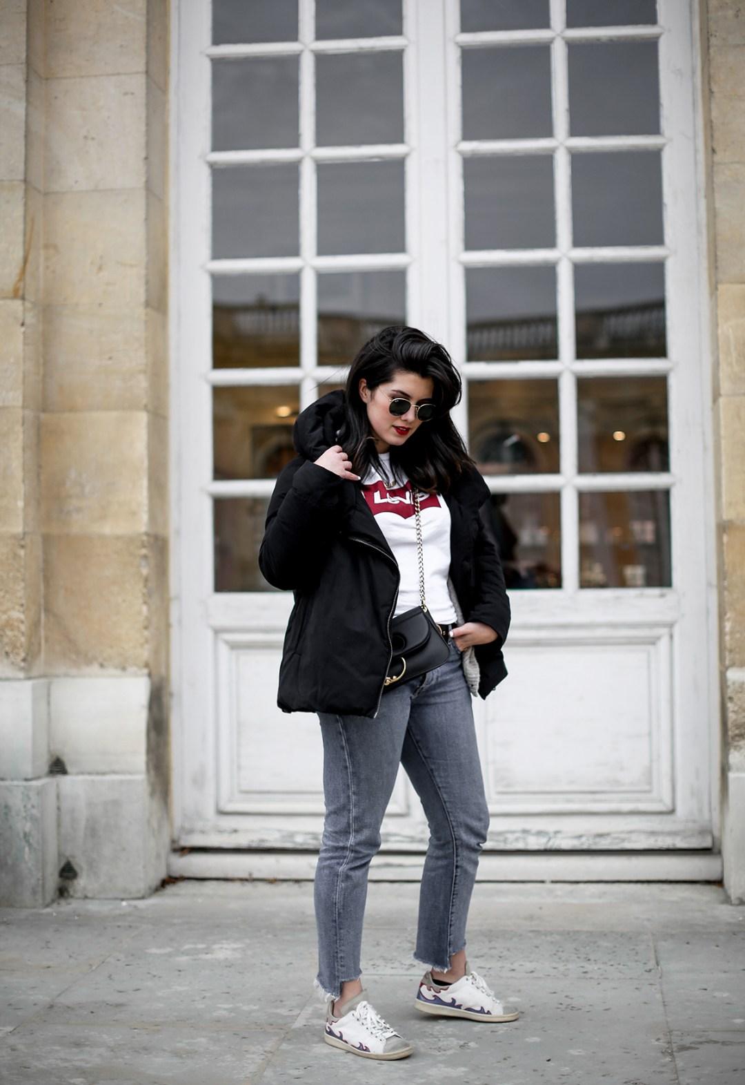 puffer-coat-levis-shirt-basic-505c-jeans-jw-anderson-pierce-bag-how-to-wear10