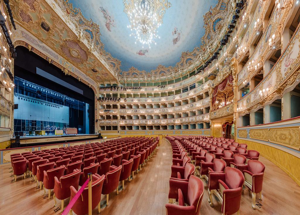 Teatro La Fenice Side View High Resolution 90mpix