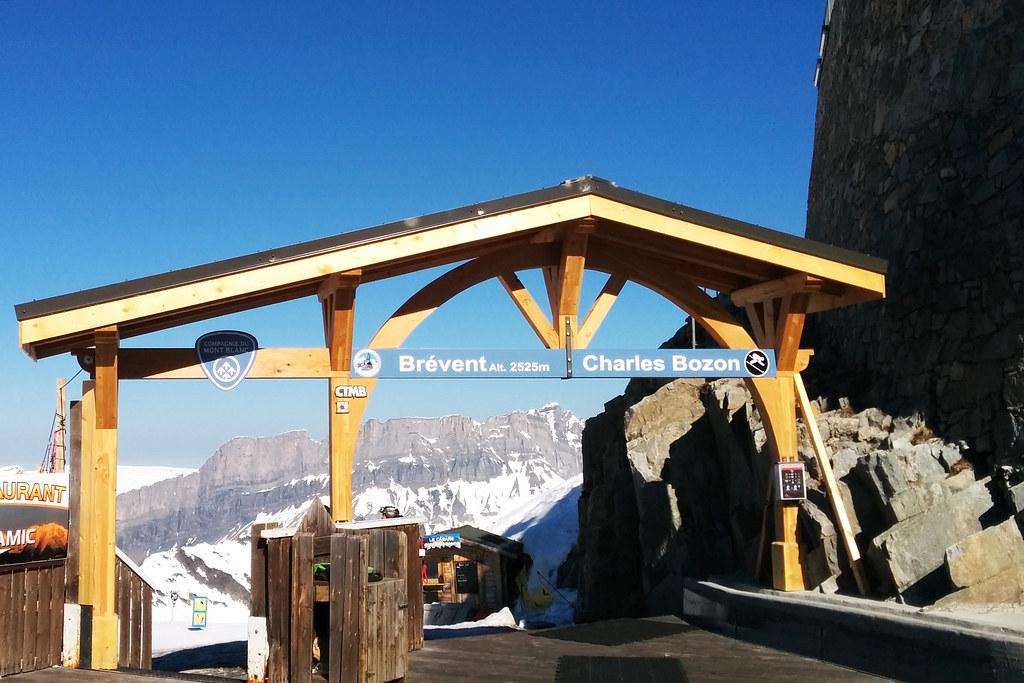Brévent-Flégère ski day