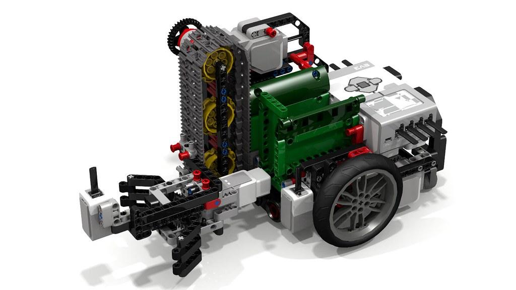 Lego Fllying Lobster EV3 Robot  Inspired by