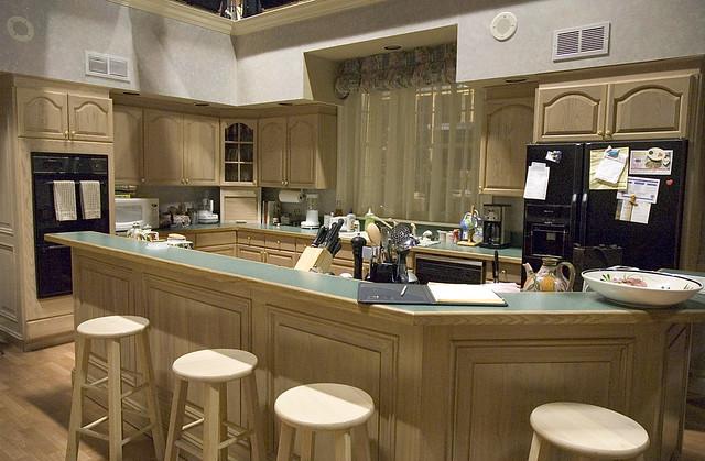 Tony and Carmela Sopranos kitchen  The set in Long