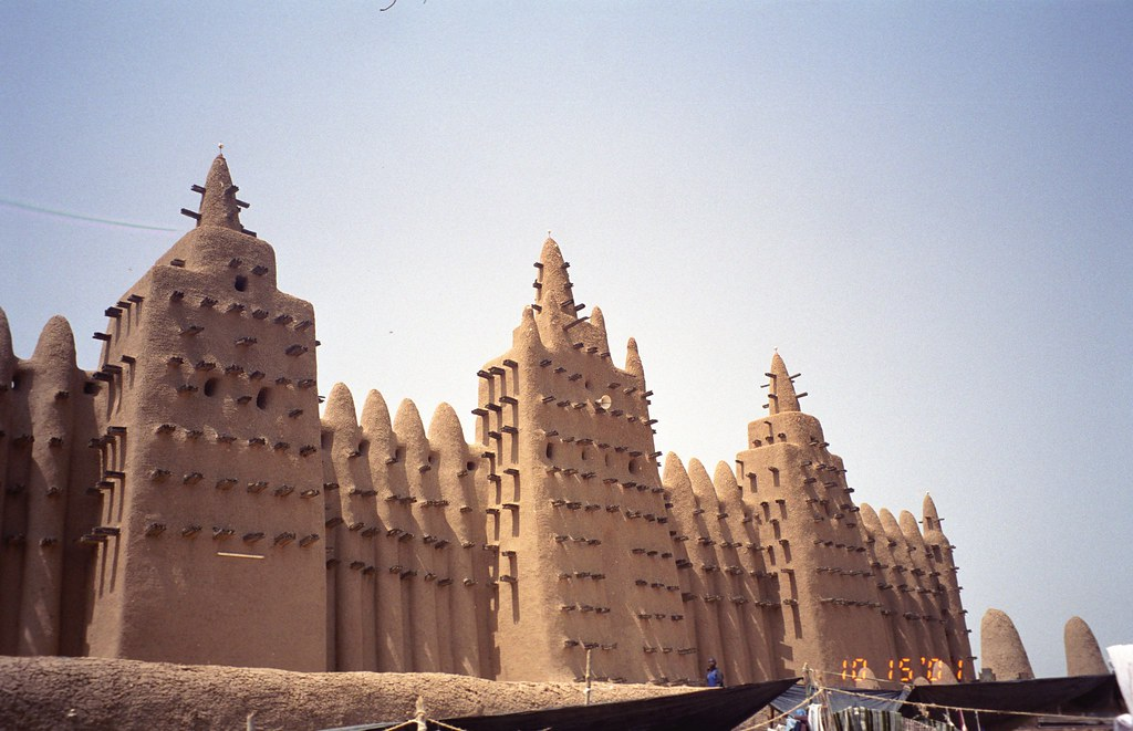 Grand Mosque of Djenne  the mosque is possibly the best
