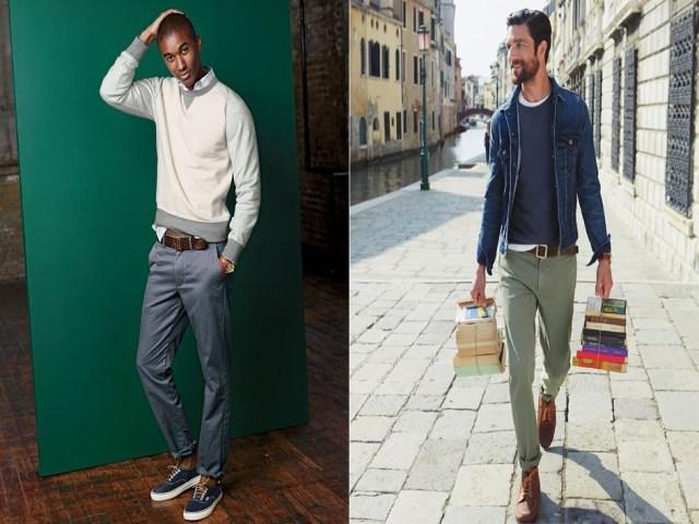 Los pantalones para hombres altos deben ser de corte recto b8d39a86e8e